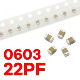 0603 22PF(10個入)
