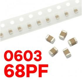 0603 68PF(10個入)