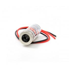 雷射光頭5mW 紅色圓點 12*35mm 3-5V 40mA
