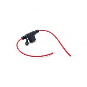 迷你汽車保險絲座 插片型 一尺 18#10A (防潑水)