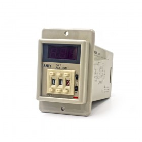 ANLY ASY-3SM AC220V 指撥數字埋入型 多段 0.1S-999M