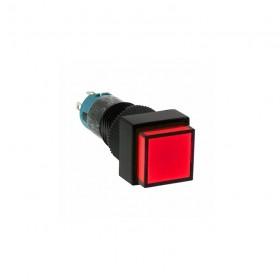 和泉開關 正方形照光10mm DC24V(復歸)