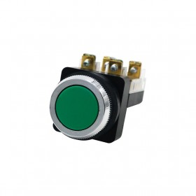 天得 平頭按鈕-綠(#30) 1a1b (傳統型)