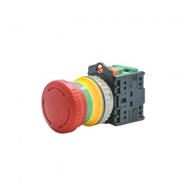 TN3BKR-1AB 紅色 緊急停止開關 30mm(1A1B)