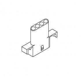 Molex 2.36-4P 連接器帶耳 母頭(20入)