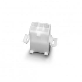 1.58-6P 母連接器(有翅)  空中接頭 間距3.68 (20入)