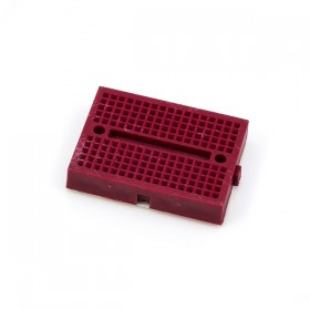 迷你麵包板 SYB-170孔 (尺寸:35*47mm)-紅色
