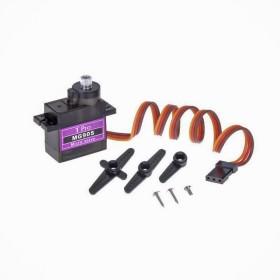 MG90S 伺服馬達 棕:GND紅:4.8-6V橙:PWM輸入
