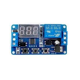 12V 多功能觸發/循環/延時繼電器開關模組