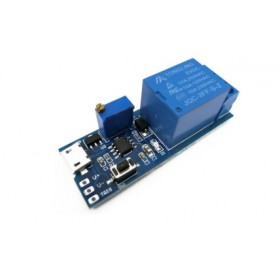 5~30V 觸發延時繼電器模組 (MicroUSB)