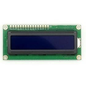 LCD1602A藍屏液晶模組5V 藍底白字/背光
