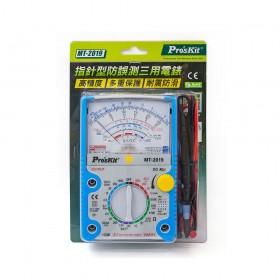 Pro'sKit 寶工 MT-2019 指針型防誤測三用電錶 指針式萬用表