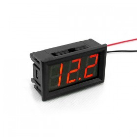 0.56 三位元LED數位交流電壓錶頭-黑殼紅光