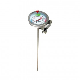 GE-725D 不鏽鋼溫度計 加長型 (0度~300度)