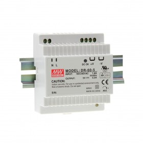 明緯 電源供應器 DR-60-5 5V 6.5A
