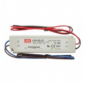 明緯 LPV-35-12 12V 3A 防水型定電壓模組/電源供應器 (招牌可用有防水)