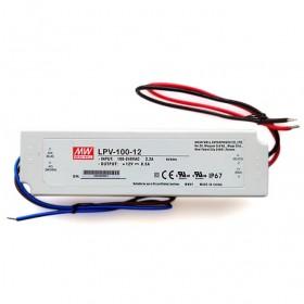 明緯 LPV-100-12 12V 8.5A 防水型定電壓模組/電源供應器(招牌可用可防水)