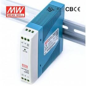 明緯 電源供應器 MDR-10-12 12V0.84A 滑軌式