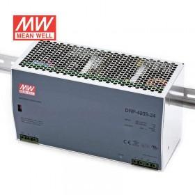 明緯 電源供應器 DRP-480S-24 24V 20A(AC110~220V)