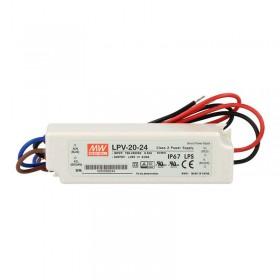 明緯 LPV-20-24 24V 0.84A 防水型定電壓模組/電源供應器 (招牌可用有防水)