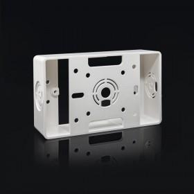 PVC BOX 白色 一體 (明)