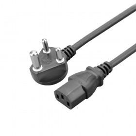 小南非雙頭電源線 0.75mm2/3G 10A250V 1.8M電源線