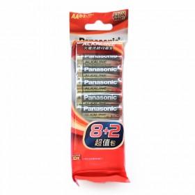 國際牌鹼性電池 3號 8+2超值包