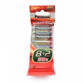 國際牌鹼性電池 4號 8+2超值包