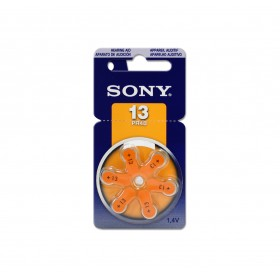 SONY 空氣助聽器電池 PR48(13) (6入/卡)