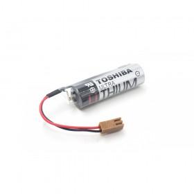 TOSHIBA PLC 鋰電池 ER6V /3.6V 含電阻(一次性) (含線帶1號接頭)