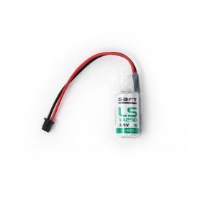SAFT LS 14250 鋰電池 3.6V (含線帶2號接頭)