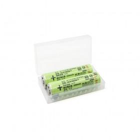日本松下 18650凸點電池 NCR18650B-P 3400mAh (2入/組) 贈電池盒 (商檢)
