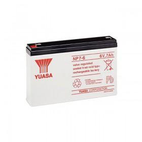 湯淺 YUASA NP7-6 6V 7AH 不斷電系統電池