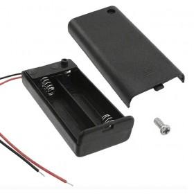 電池盒(帶線+開關+蓋子) 2顆3號