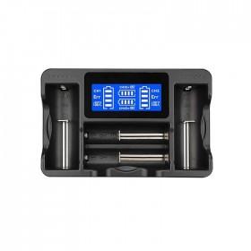 LCD顯示4槽多功能電池充電器 (CH-LCD04)