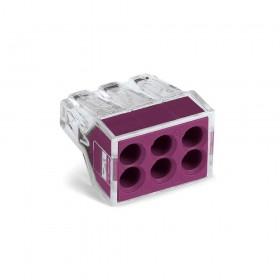 WAGO 773-106 接線端子 6P24A 0.75-2.5mm (5入)