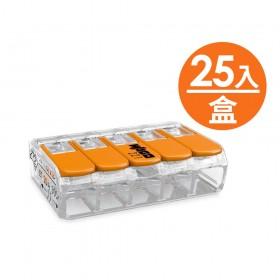 WAGO 221-415 快速接頭 5P32A 0.14-4mm (25pc/盒)