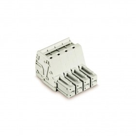 WAGO 831-3104 7.62mm 4孔針型連接器-母