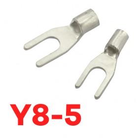 Y型裸端子 Y8-5 (8AWG) KSS (100入/包)
