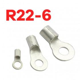 R型裸端子 KSS R22-6 (4AWG) (10PCS/包)