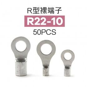 R型裸端子 R22-10 (4AWG) 佳力牌 (50PCS/包)