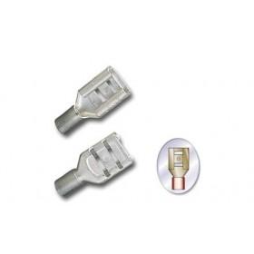 平網加短銅套端子(母) D1.25-5A-0.5 佳力牌 (100入)