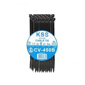 KSS 尼龍紮線帶(黑) CV-450B 450*8.0mm/100PCS
