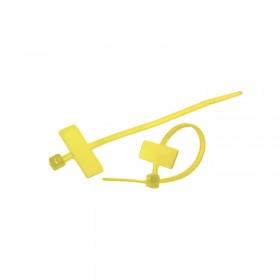 標示紮線帶 MCV-100 100*2.5mm 100入 (黃色)