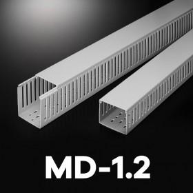 【不可超取】絕源配線槽 MD-1.2 (灰色) 33*33mm 1.7M (出線孔8MM)