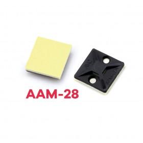 AAM-28 貼片固定板 28*28 (本色) 100PCS/包