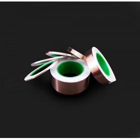 雙導電銅箔膠帶 25mm*30M 耐高溫120度 (符合RoHS)
