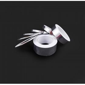 單導電鋁箔膠帶 25mm*40M 耐高溫120度 (符合RoHS)