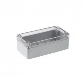 ABS材質 透明上蓋防水盒160x80x55mm G258C