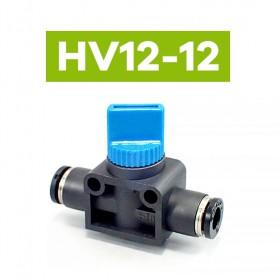 PISCO HV12-12 氣管接頭手動閉上筏